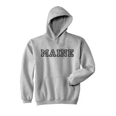 Hooded Sweatshirt with Maine